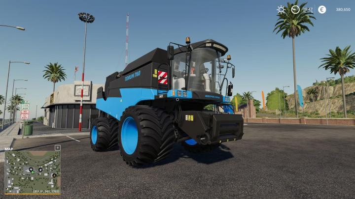 FS19 - Rostelmash Torum 760 Blue V3