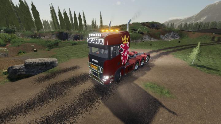 FS19 - Scania (Griffin) V1.2