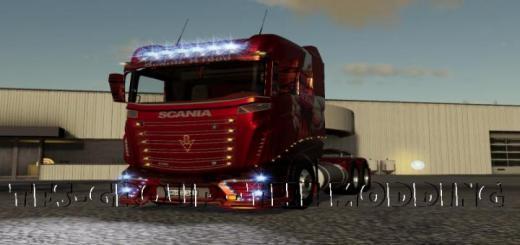 Photo of FS19 – Scania R1000 Coca Cola V2