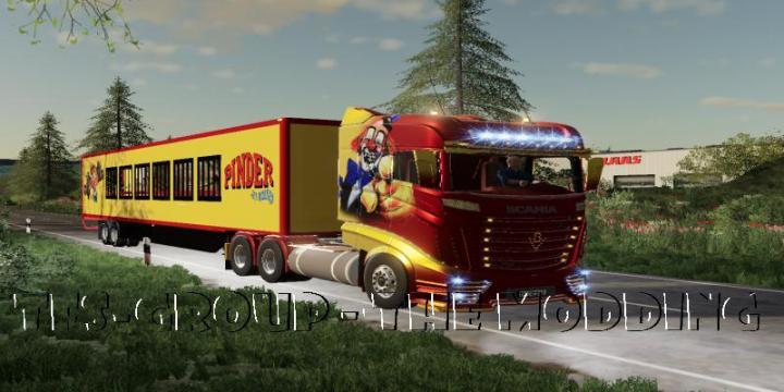 FS19 - Scania R1000 Pinder V2