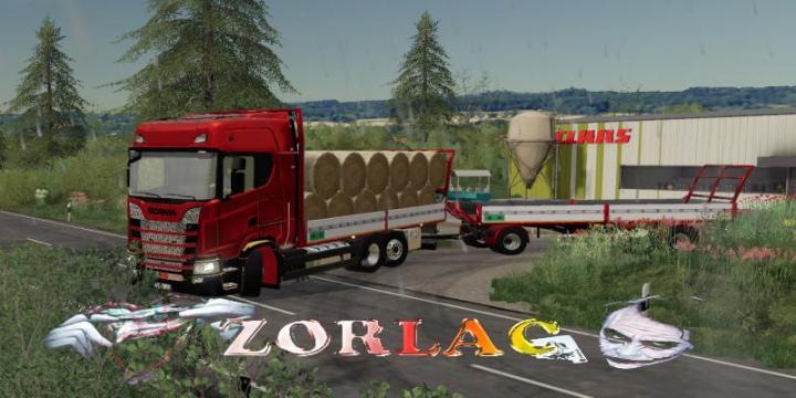 FS19 - Scania S580Tr 6W V2