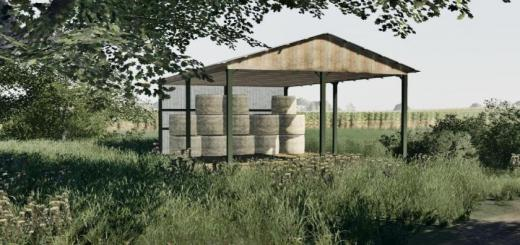 Photo of FS19 – Shed For Bales V1