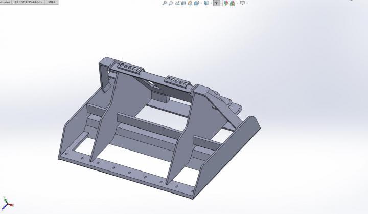 FS19 - Skid Steer Leveler V1