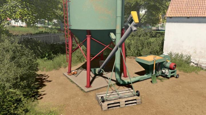 FS19 - Small Grain Silo V1