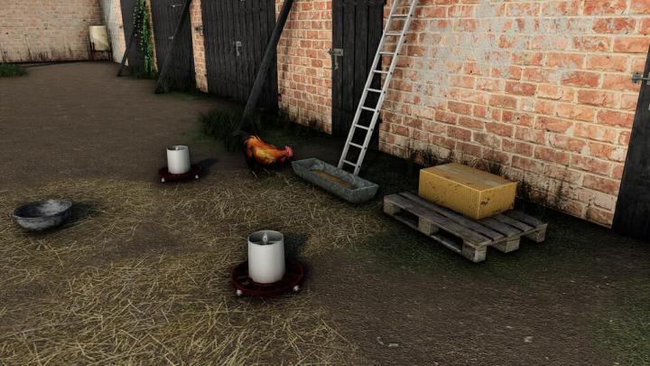 FS19 - Small Polish Chicken Coop V1