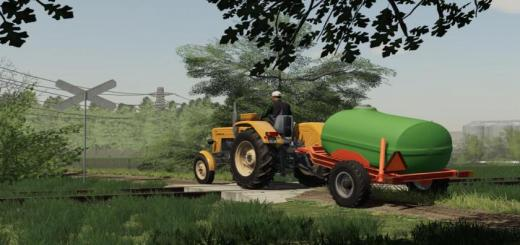 Photo of FS19 – Small Water Trailer V1