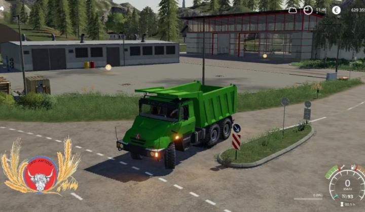 FS19 - Tatra 163 Jamal Dumper V1