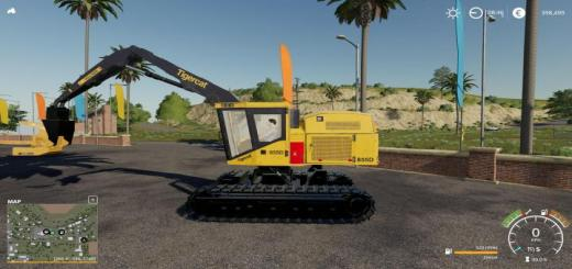 Photo of FS19 – Tigercat Ls855D Df V1