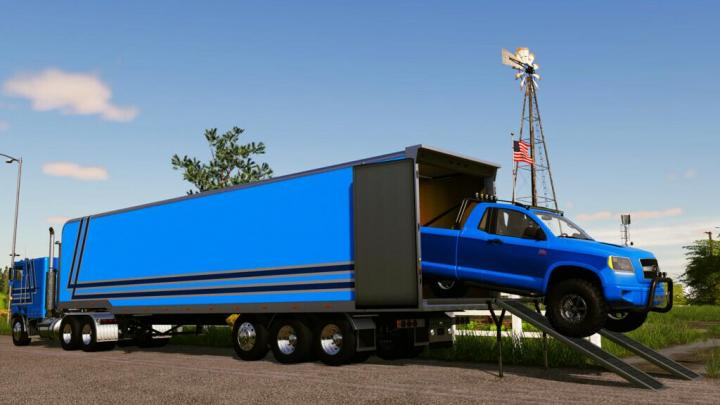FS19 - Tlx 48Ft Enclosed Trailer V1.0.1.0