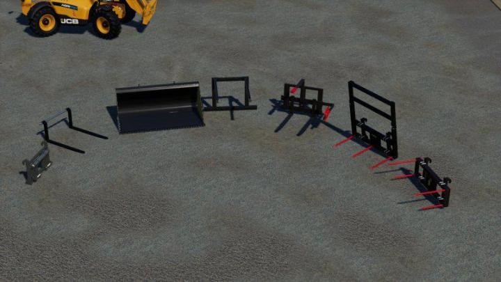 FS19 - Tools For Jcb 542-70 V1