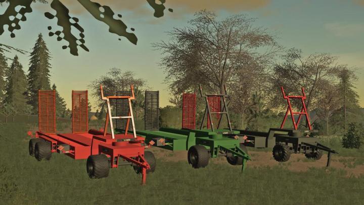 FS19 - Trailer For Sugar Cane Harvester V1