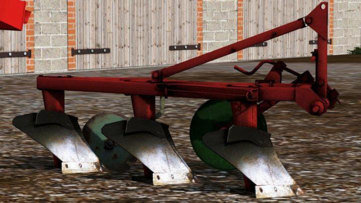 FS19 - Unia 3 Plough V1