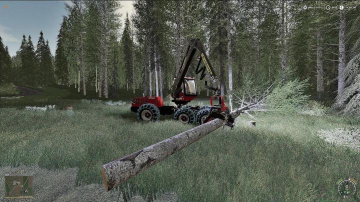 FS19 - Valmet 931 Harvester V1