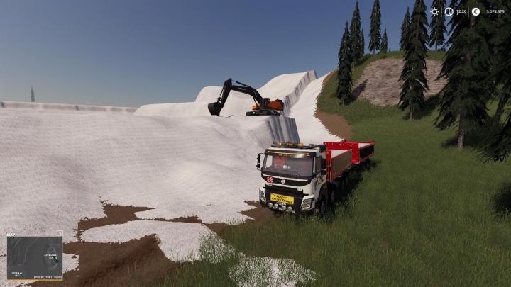 FS19 - Volvo Ec-750El Mining Excavator V1