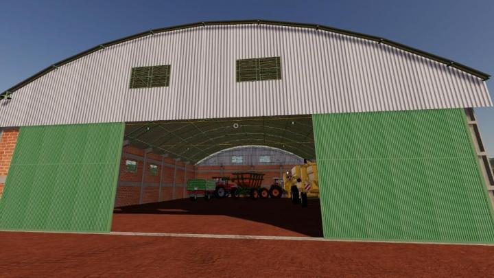 FS19 - Warehouse 30 X 20 V1