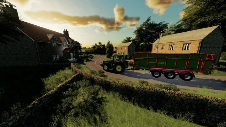 FS19 - Welcome To Oakhill Map V1