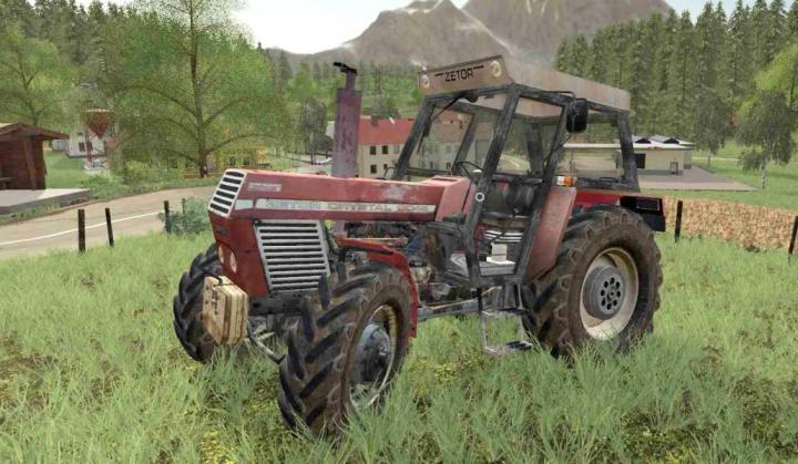 FS19 - Zetor Crystal Tractor
