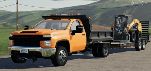 Photo of FS19 – 2020 Chevy 3500Hd Single Cab Dump Truck V1