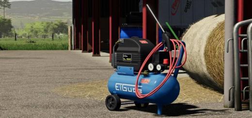 Photo of FS19 – Air Compressor V1.0.1.0