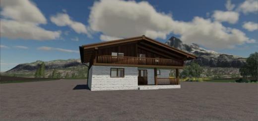 Photo of FS19 – Alpen Farmhaus Beta