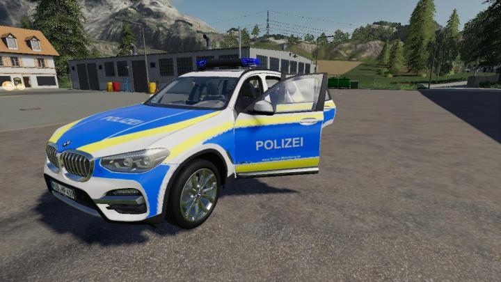 FS19 - Bmw X3 – Police V3