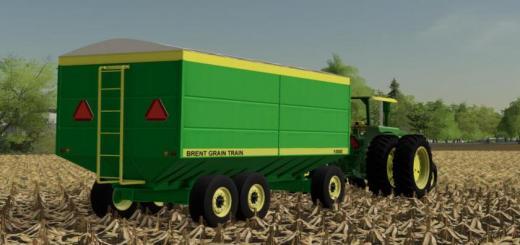 Photo of FS19 – Brent Grain Train 1000 V1