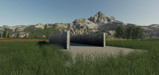 Photo of FS19 – Bunker Silo Small V1