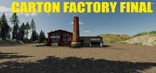 Photo of FS19 – Carton Factory Final