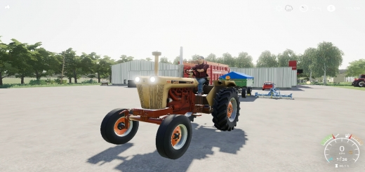 Photo of FS19 – Case 1030 Tractor V2