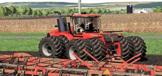 Photo of FS19 – Case Ih Afs Connect Steiger Series V1.0.0.1