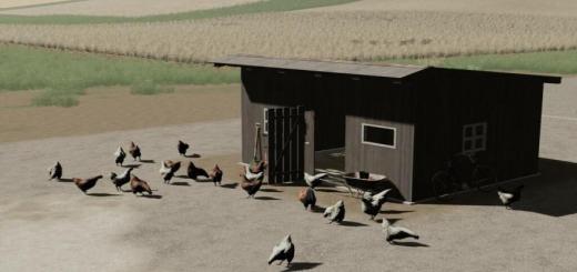 Photo of FS19 – Chicken Coop V1