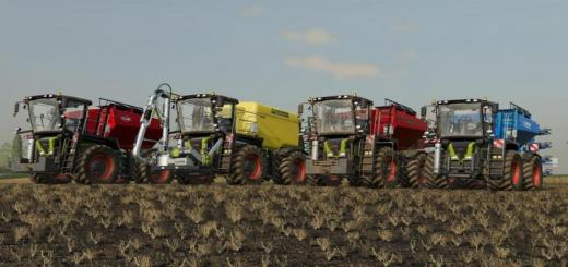 Photo of FS19 – Claas Xerion 3000 Saddle Trac V1.2