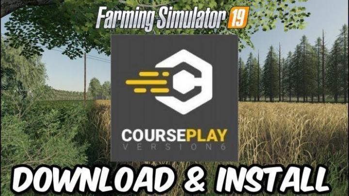FS19 - Courseplay V6.03.00050