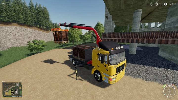 FS19 - Crane Traverse V1