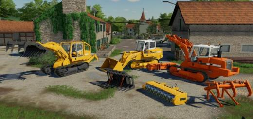 Photo of FS19 – Crawler Loader Liebherr 622 Pack V1