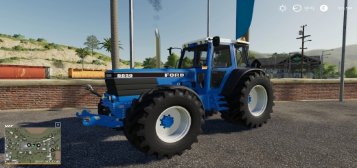 Photo of FS19 – Ford 8830 Edit And Real Smokee V1