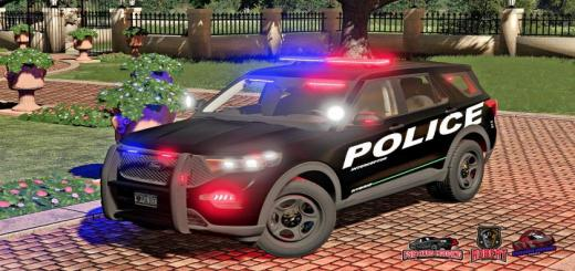 Photo of FS19 – Ford Explorer 2020 Police Interceptor V1