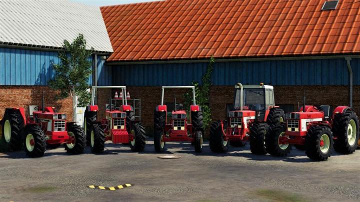 FS19 - International 46 Series Pack V1