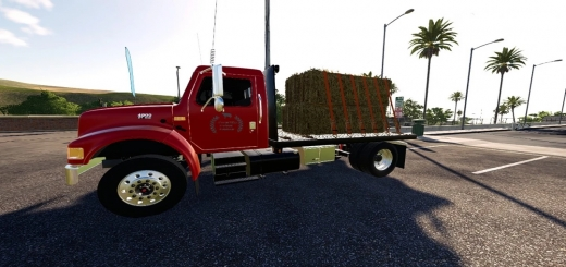 Photo of FS19 – International 4900 Single Axle V2.0