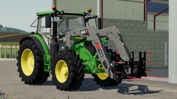 FS19 - John Deere 6105-30R V2