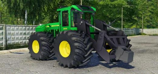 Photo of FS19 – John Deere 643K V1