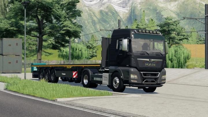 FS19 - Krone Flatbed Trailer V1