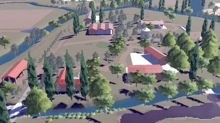 FS19 - Lands Of River Po Map V1