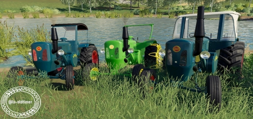Photo of FS19 – Lanz D6016 Tractor V1.0
