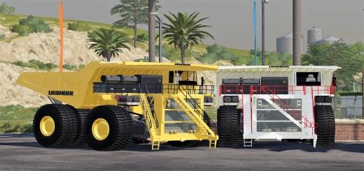 Photo of FS19 – Liebherr T 264 Mining Dumper V1.0