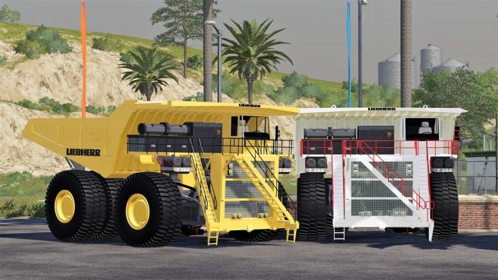 FS19 - Liebherr T 264 Mining Dumper V1