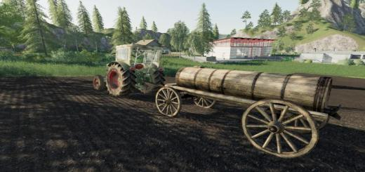 Photo of FS19 – Lizard Holzgullefass V1.2