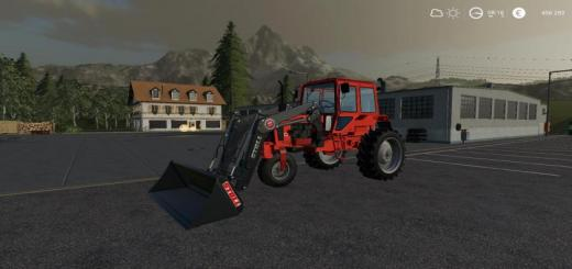 Photo of FS19 – Mtz 80X Alteration V0.1