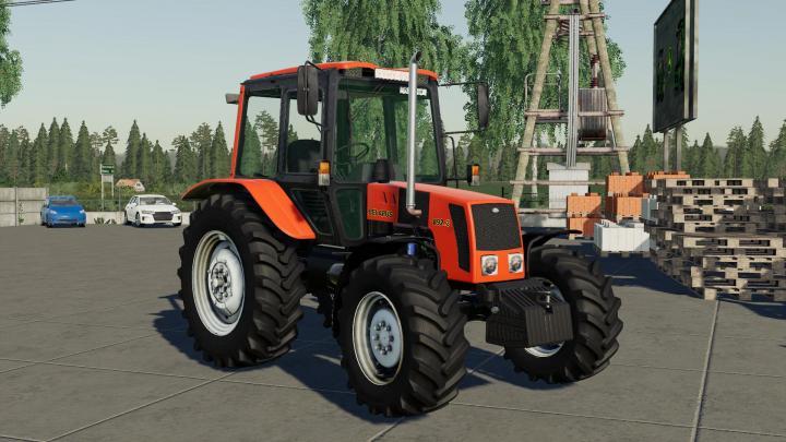 FS19 - Mtz 892.2 Tractor V2