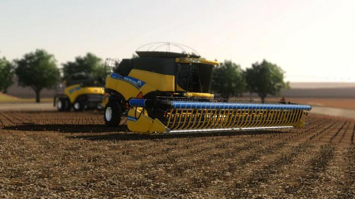 FS19 - New Holland / Case Ih Drapper V2